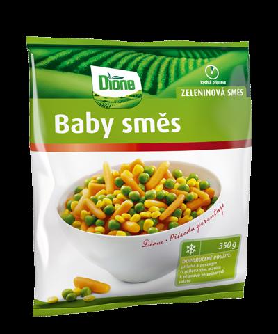 Zeleninová směs Baby směs